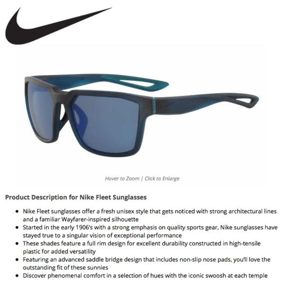 be6dfc8084c0 Nike Fleet Unisex Sunglasses. M_5bbac60fe944ba604e687358